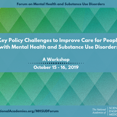Register Now for the Mental Health and SUD Forum's First Workshop